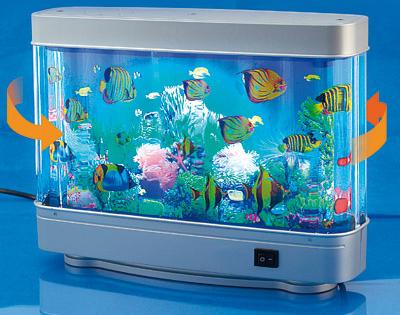Lampada acquario in movimento dmail for Lampada acquario