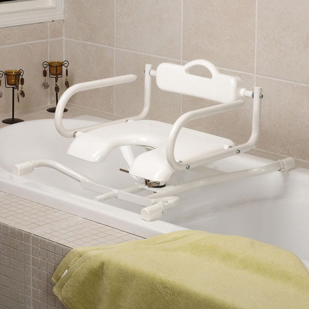 Sedile per vasca girevole con schienale dmail for Parete vasca ikea
