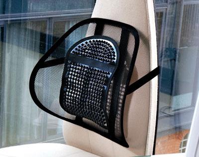 Schienale ergonomico per sedie e sedile auto - - Dmail