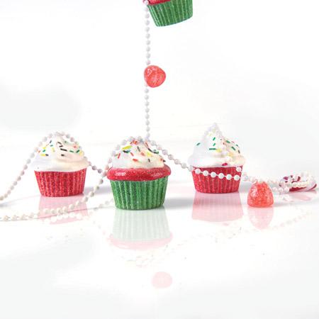 Ghirlanda cup cake per albero