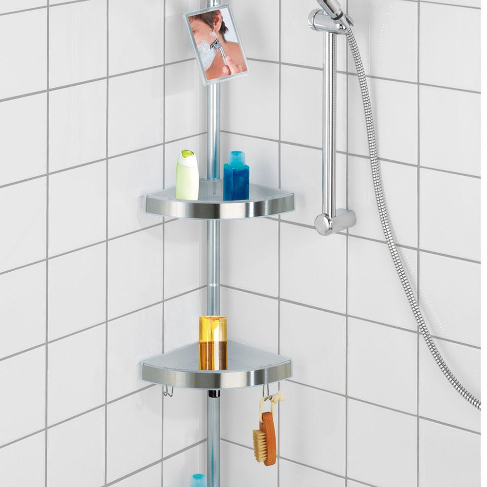 Angoliera estensibile da doccia doccia dmail for Accessori doccia design