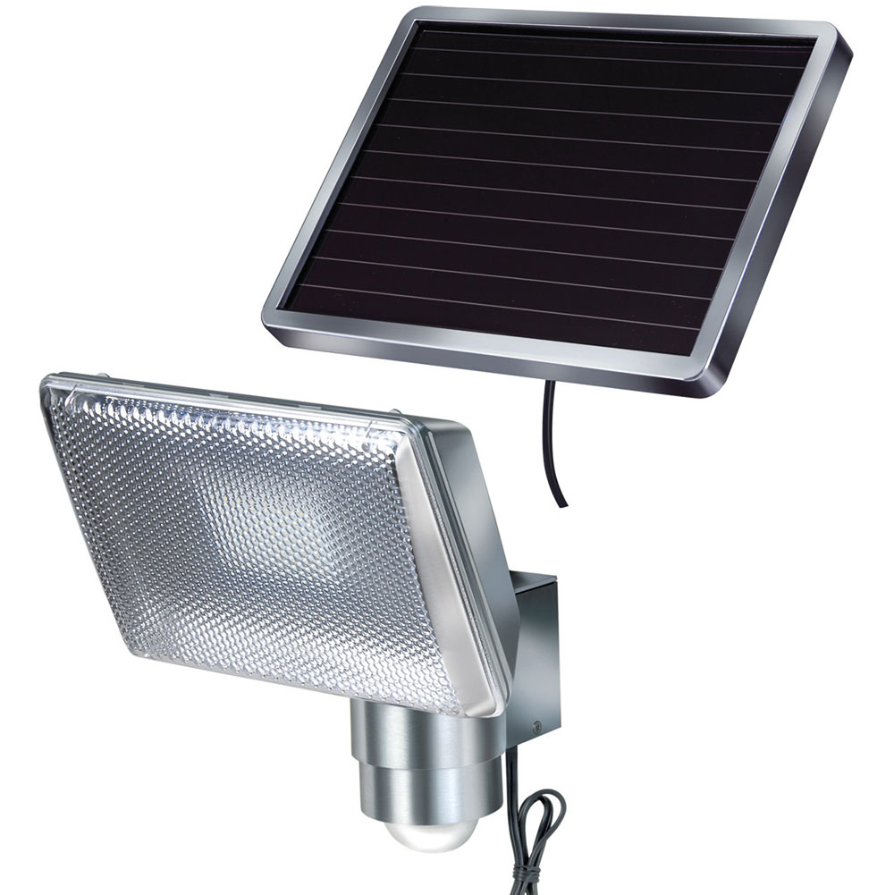 Faretto solare per esterno 8 led 344533 dmail for Placchette luce leroy merlin