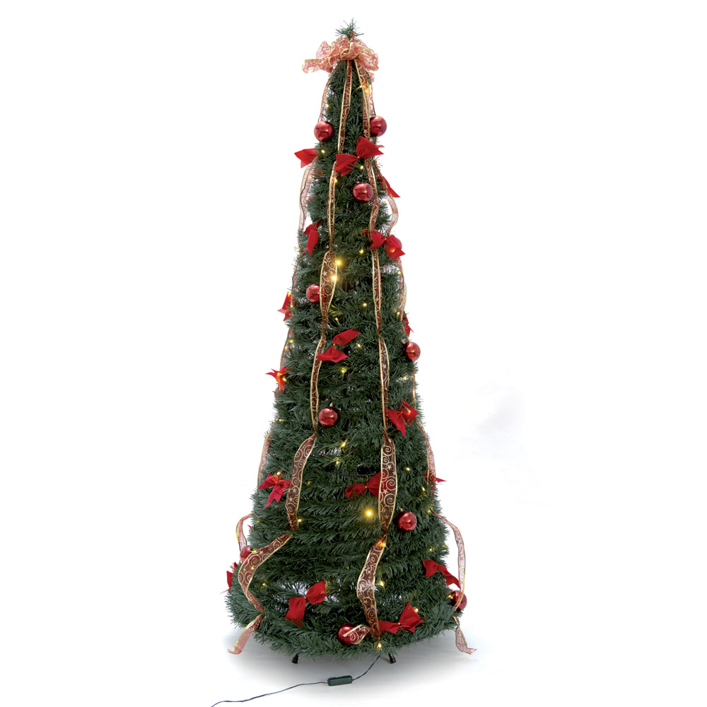 Albero di natale pronto con led dmail for Albero di natale led